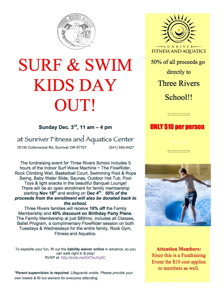 Surf and Swim Flyer